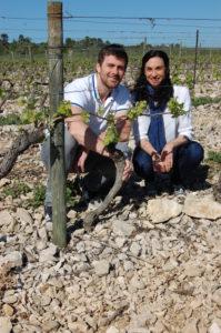 Olivier et Stéphanie Ramé au domaine Ventenac