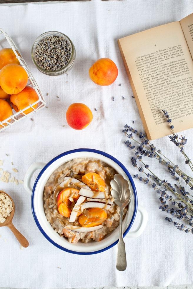 Recette abricot et lavande