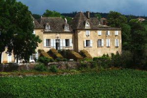 Vignoble et château de Montceau
