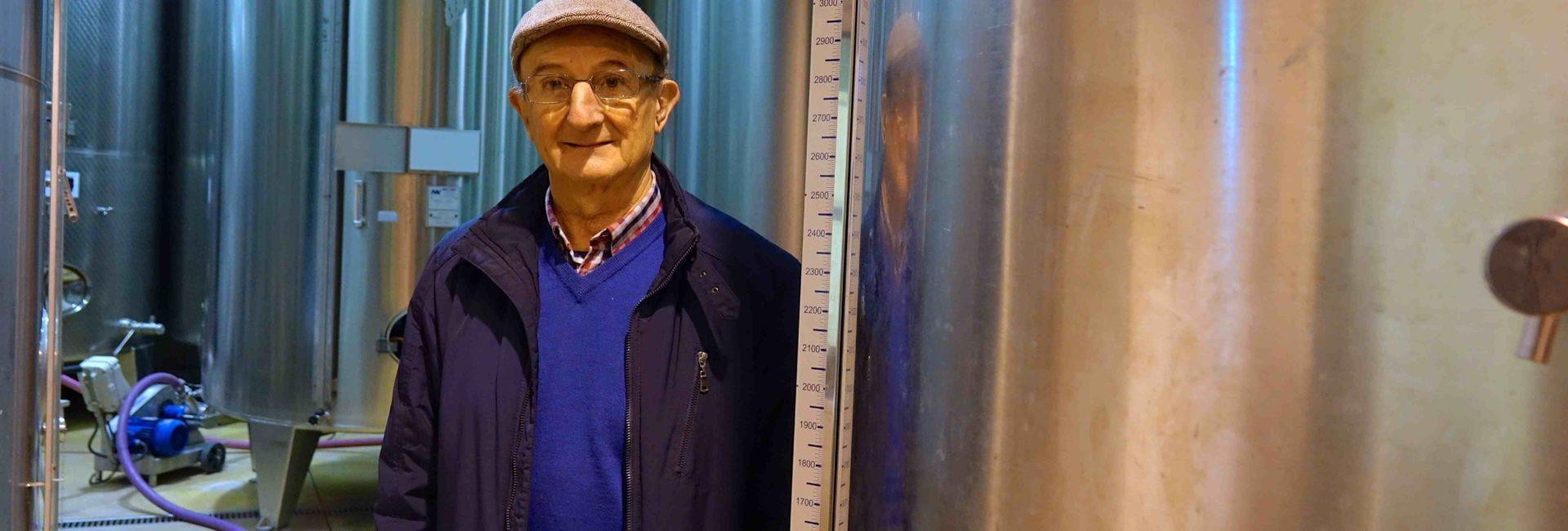 Jacques Calvel du domaine J. Laurens à Limoux