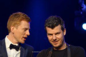 Joachim Boudens et le chef belge Gert de Mangeleer