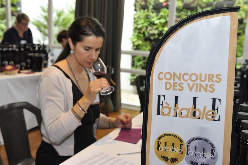 Elle à Table concours des vins