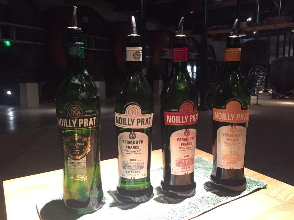 La gamme Vermouth de Noilly Prat