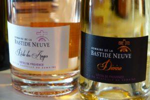 Domaine de la Bastide neuve, deux rosés
