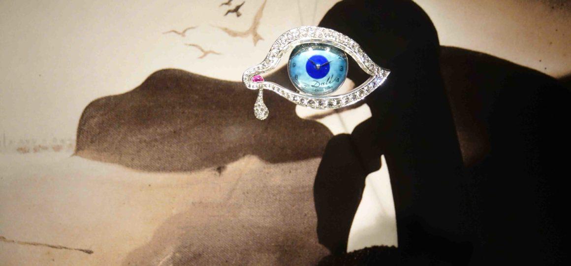 L'oeil a inspiré Salvador Dali, en référence à celui de Luis Bunuel